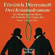Cover-Bild zu Dürrenmatt, Friedrich: Drei Kriminalromane