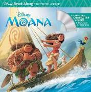 Cover-Bild zu Moana Read-Along Storybook & CD von Disney Storybook Art Team (Illustr.)