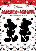 Cover-Bild zu Art of Coloring: Mickey Mouse and Minnie Mouse 100 Images to Inspire Creativity von Disney Book Group