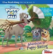 Cover-Bild zu Puppy Dog Pals Read-Along Storybook and CD Adventures in Puppy-Sitting von Disney Book Group