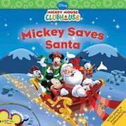 Cover-Bild zu Mickey Saves Santa [With Sticker(s)] von Disney Book Group