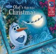 Cover-Bild zu Frozen Olaf's Night Before Christmas Book & CD von Disney Book Group