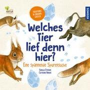 Cover-Bild zu Welches Tier lief denn hier? von Ernsten, Svenja