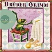 Cover-Bild zu Grimm, Brüder: Brüder Grimm: Die Märchen Box (Schneewittchen / Dornröschen / Frau Holle / Der Froschkönig / Die Bremer Stadtmusikanten / Rapunzel / Der Hase und der Igel u.a.)