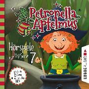 Cover-Bild zu Städing, Sabine: Petronella Apfelmus, Teil 7: Hexenschnupfen, Fürchten sich Heckenschrate?, Der größte Wichtel der Welt (Audio Download)