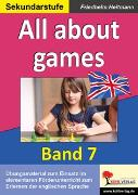 Cover-Bild zu All about games (eBook) von Heitmann, Friedhelm
