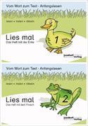 Cover-Bild zu Lies mal - Hefte 1 und 2 (Paket) von Debbrecht, Jan