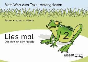 Cover-Bild zu Lies mal 2 - Das Heft mit dem Frosch von Debbrecht, Jan