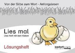 Cover-Bild zu Lies mal - Das Heft mit dem Küken von Wachendorf, Peter