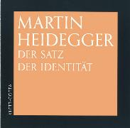 Cover-Bild zu Heidegger, Martin: Der Satz der Identität