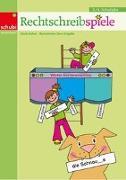Cover-Bild zu Rechtschreibspiele 3./4. Schuljahr. Lehrermaterial. Kopiervorlagen von Küfner, Gisela
