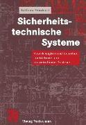 Cover-Bild zu Sicherheitstechnische Systeme (eBook) von Steinhorst, Wolfgang