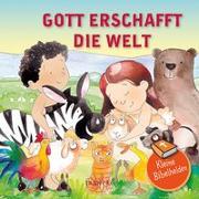 Cover-Bild zu Kleine Bibelhelden - Gott erschafft die Welt von Groenewald, Catherine (Illustr.)