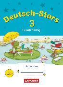 Cover-Bild zu Deutsch-Stars, Allgemeine Ausgabe, 3. Schuljahr, Lesetraining, Übungsheft, Mit Lösungen