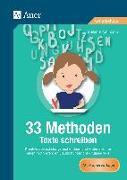 Cover-Bild zu 33 Methoden Texte schreiben von Pohlmann, Stefanie