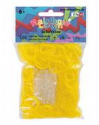 Cover-Bild zu Rainbow Loom Gummibänder Gelb Opaque