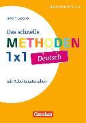 Cover-Bild zu Fachmethoden Sekundarstufe 1/2. Das schnelle Methoden-1x1 Deutsch von Lascho, Birgit