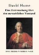 Cover-Bild zu David Hume: Eine Untersuchung über den menschlichen Verstand
