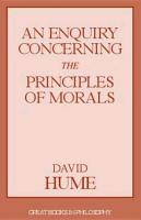 Cover-Bild zu Hume, David: An Enquiry Concerning the Principles of Morals