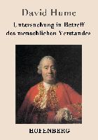 Cover-Bild zu David Hume: Untersuchung in Betreff des menschlichen Verstandes