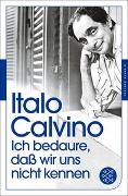 Cover-Bild zu Calvino, Italo: Ich bedaure, daß wir uns nicht kennen