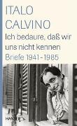 Cover-Bild zu Calvino, Italo: Ich bedaure, dass wir uns nicht kennen