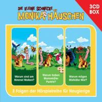 Cover-Bild zu Naumann, Kati: Die kleine Schnecke Monika Häuschen - Hörspielbox Vol. 2