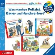 Cover-Bild zu Erne, Andrea: Wieso? Weshalb? Warum? junior. Was machen Polizist, Bauer und Handwerker?