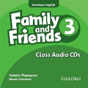 Cover-Bild zu Family and Friends American Edition: 3: Class CD von Simmons, Naomi
