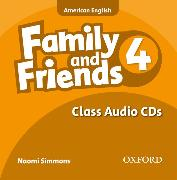 Cover-Bild zu Family and Friends American Edition: 4: Class CD von Simmons, Naomi