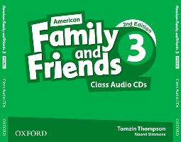 Cover-Bild zu American Family and Friends: Level Three: Class Audio CDs von Simmons, Naomi