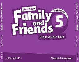 Cover-Bild zu American Family and Friends 5. Class Audio CDs von Simmons, Naomi