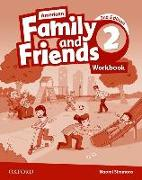 Cover-Bild zu American Family and Friends: Level Two: Workbook von Simmons, Naomi