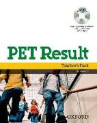 Cover-Bild zu PET Result:: Teacher's Pack (Teacher's Book with Assessment Booklet, DVD and Dictionaries Booklet) - PET Result von Quintana, Jenny