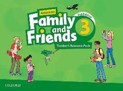 Cover-Bild zu American Family and Friends: Level Three: Teacher's Resource Pack von Simmons, Naomi