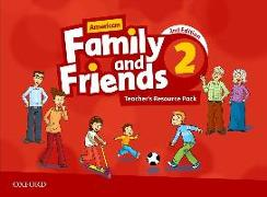 Cover-Bild zu American Family and Friends: Level Two: Teacher's Resource Pack von Simmons, Naomi