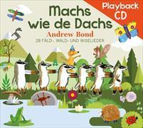 Cover-Bild zu Machs wie de Dachs. Playback-CD