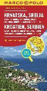 Cover-Bild zu Kroatien, Serbien, Bosnien und Herzegowina. 1:800'000
