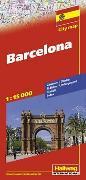 Cover-Bild zu Barcelona Stadtplan 1:15 000. 1:15'000