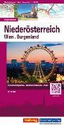 Cover-Bild zu Niederösterreich, Wien Strassenkarte 1:175 000. 1:175'000