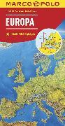 Cover-Bild zu Europa, physisch. 1:2'500'000