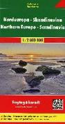 Cover-Bild zu Nordeuropa - Skandinavien, Autokarte 1:2 Mio. 1:2'000'000
