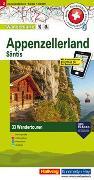 Cover-Bild zu Appenzellerland Säntis Touren-Wanderkarte Nr. 2. 1:50'000