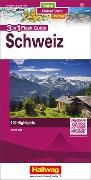 Cover-Bild zu Schweiz Flash Guide Strassenkarte 1:275 000. 1:275'000