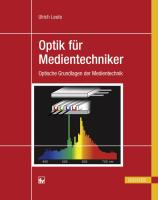 Cover-Bild zu Optik für Medientechniker