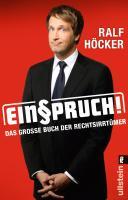 Cover-Bild zu Einspruch!
