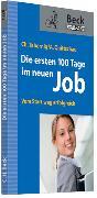 Cover-Bild zu Die ersten 100 Tage im neuen Job