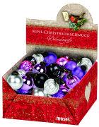 Cover-Bild zu Mini-Christbaumschmuck Lila und Co. - Weihnachtszauber