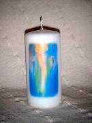 Cover-Bild zu Engel-Kerze 'Raphael' - Deine heilenden Hände segnen mich