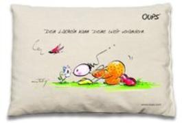 Cover-Bild zu Oups Zirben-Kissen. Dein Lächeln kann Deine Welt verändern